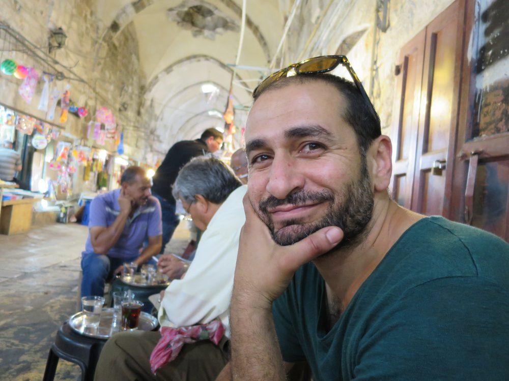 Mohamed de Jérusalem et Sharon de Bruxelles